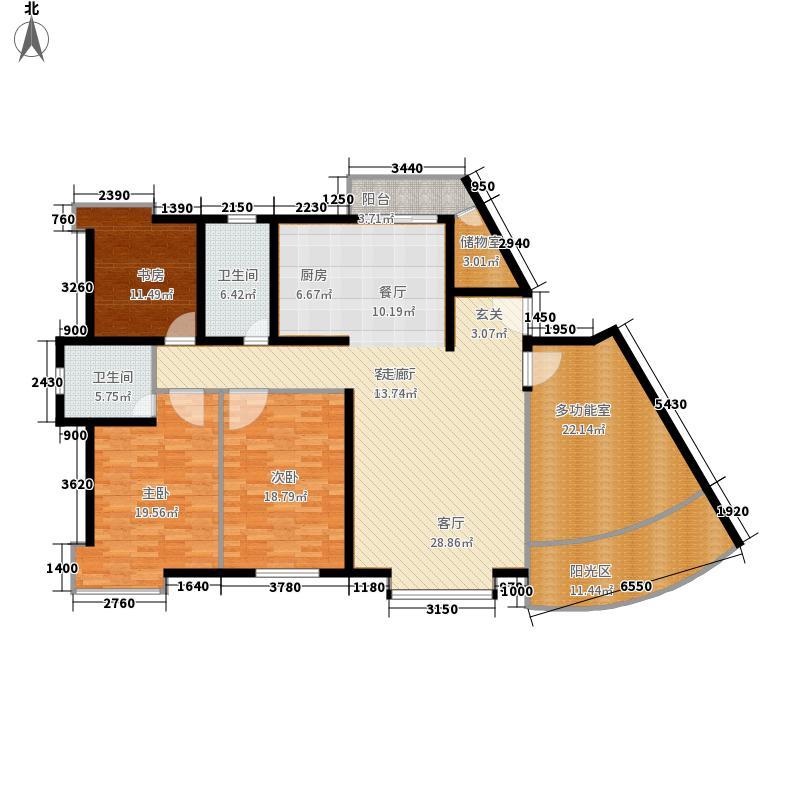 禾城世纪花园183.37㎡禾城・世纪花园面积18337m户型