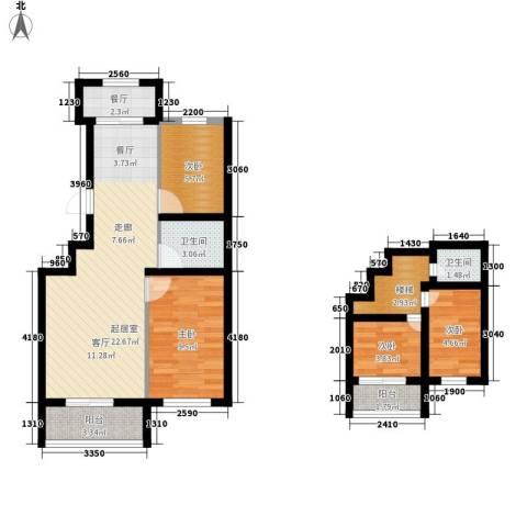 嘉乐园4室1厅2卫0厨73.46㎡户型图