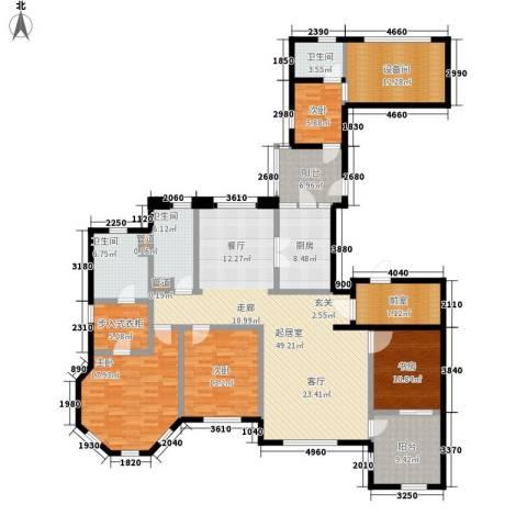 华润外滩九里4室0厅3卫1厨188.00㎡户型图