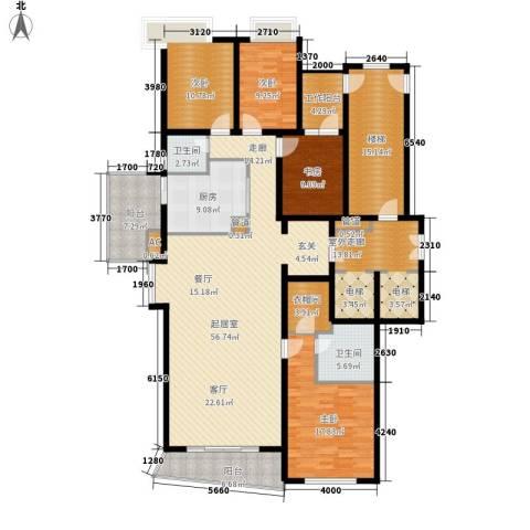 美居荷园4室0厅2卫1厨198.00㎡户型图