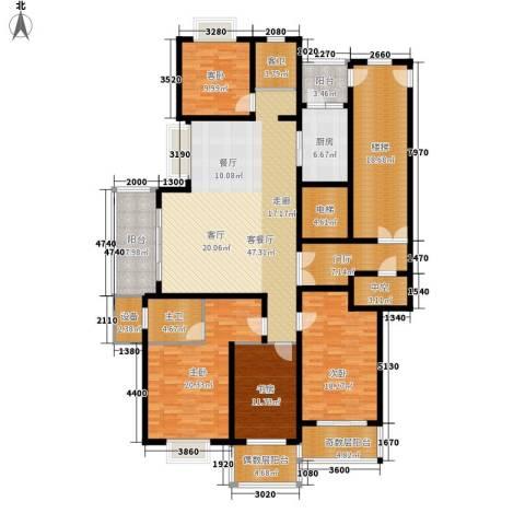 宝业大坂风情4室1厅0卫1厨179.61㎡户型图
