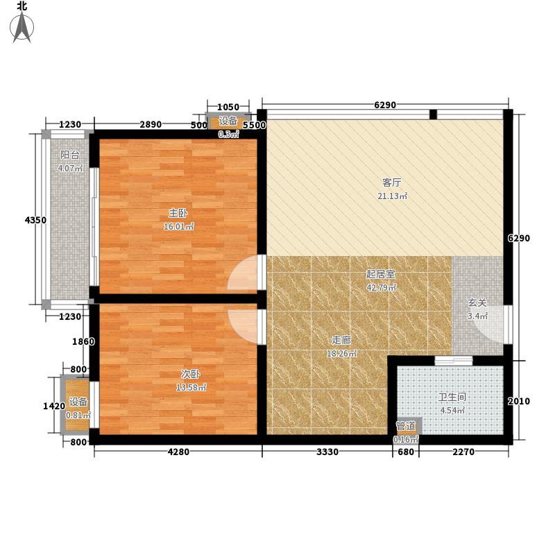 瑞士酒店公寓C2户型