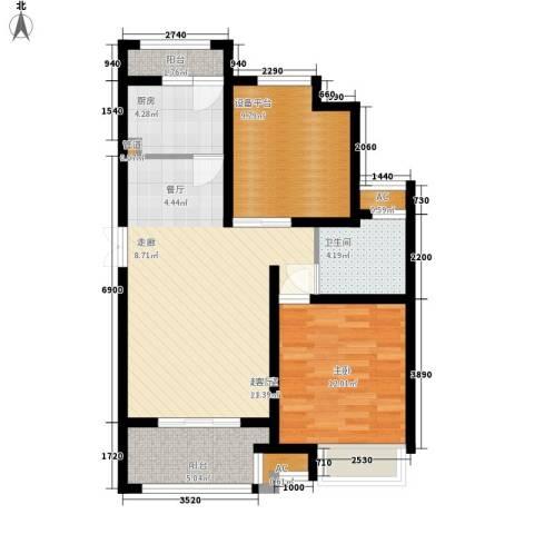 国基城邦1室0厅1卫1厨92.00㎡户型图