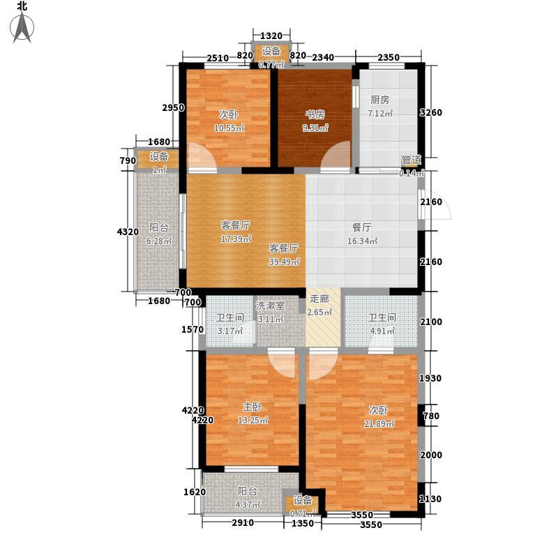 城置国际花园城139.00㎡三期18#楼K户型