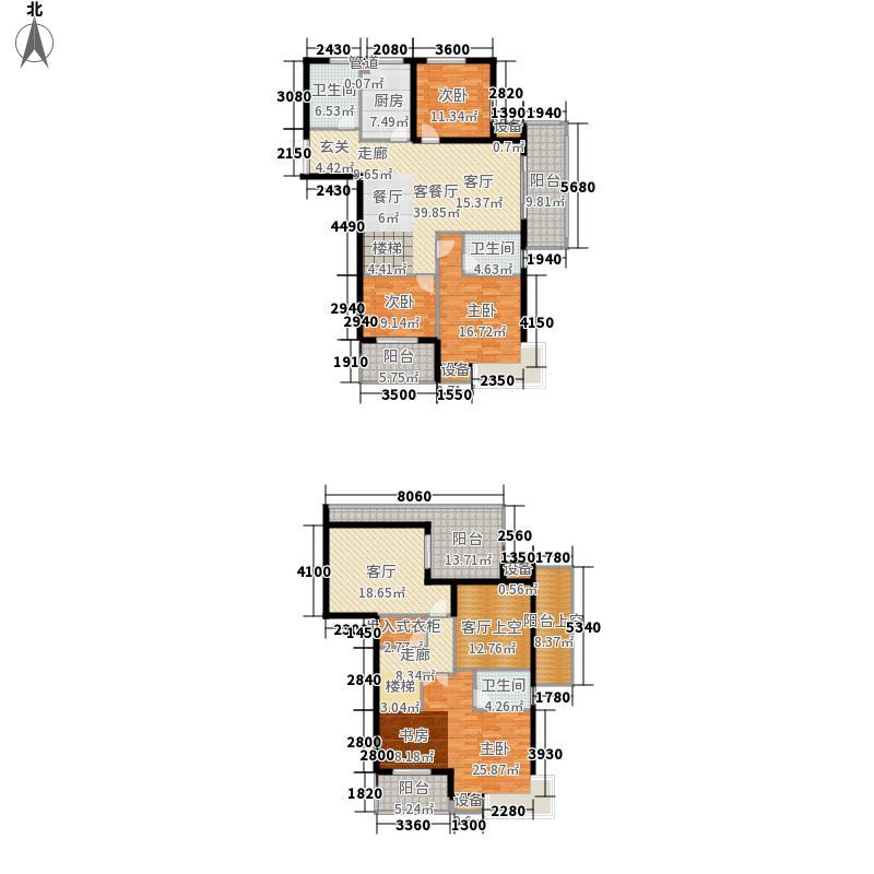恒鑫文锦苑220.00㎡小高层9号楼GCD-3户型