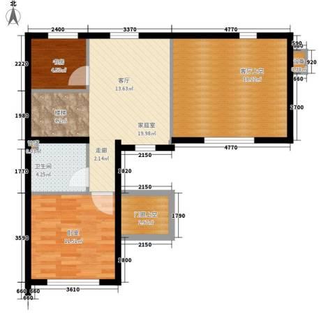 首创玲珑墅1室0厅1卫0厨194.00㎡户型图
