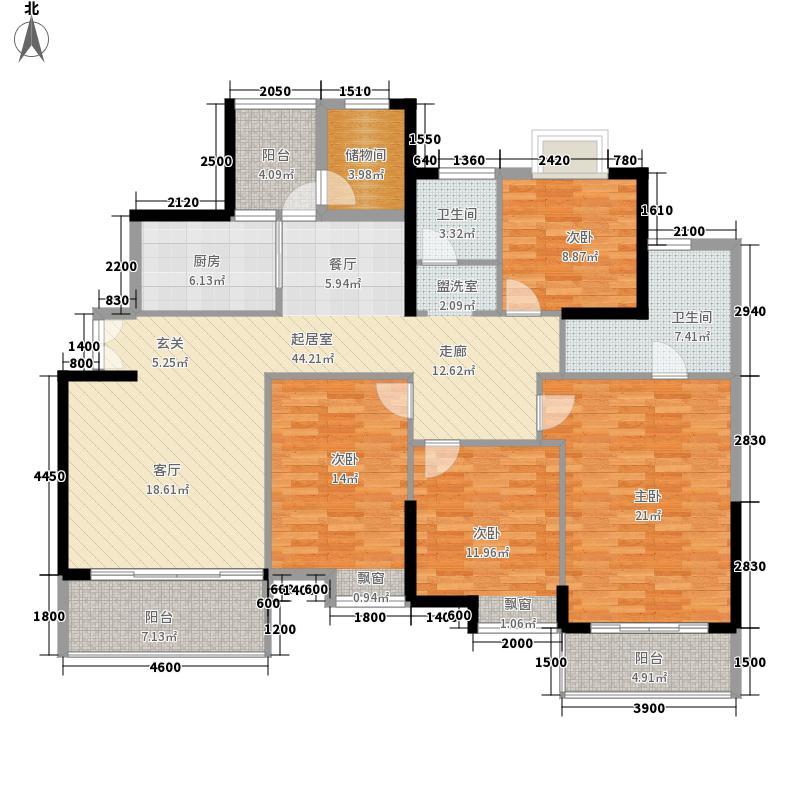 丰源官邸180.22㎡A2(二期)4面积18022m户型