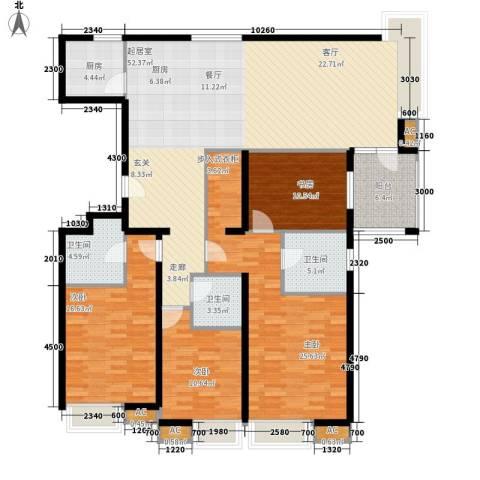 8哩岛4室0厅3卫1厨180.00㎡户型图