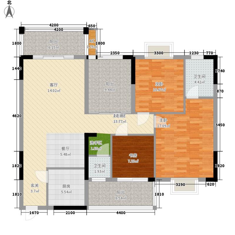 康定园水榭华庭康定园・水榭华庭5栋A座A2户型