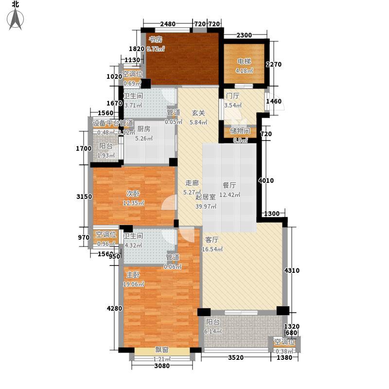 白金湾131.00㎡L02户型3室2厅