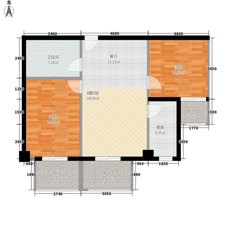 鑫成大厦(还建楼)105.85㎡鑫成大厦鑫城面积10585m户型