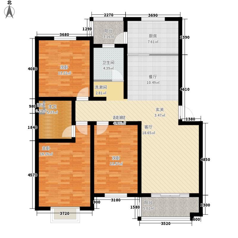 泰丰家园126.00㎡1面积12600m户型