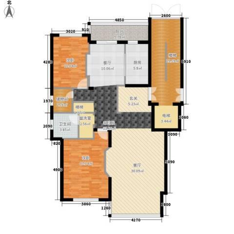 宁兴・杭湾名苑2室0厅1卫1厨256.00㎡户型图