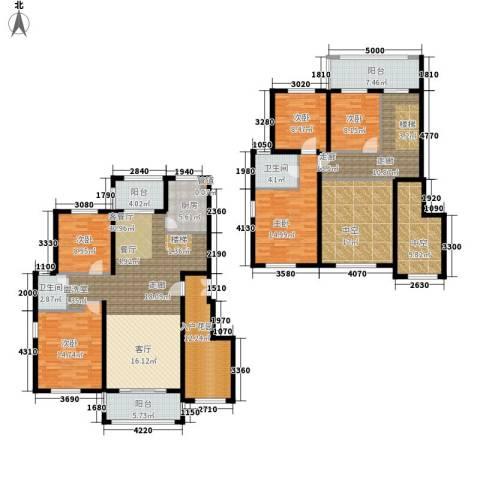 建业森林半岛5室1厅2卫1厨204.00㎡户型图