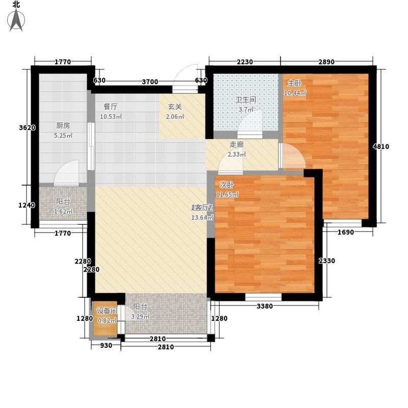 新奥蓝城89.70㎡新奥蓝城 C户型 2室2厅1卫89.70平米户型2室2厅1卫