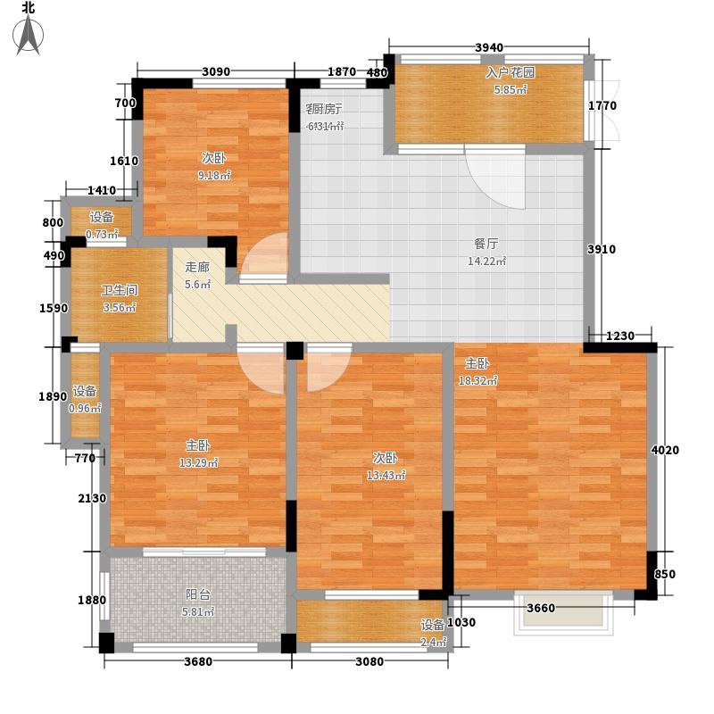 东方维罗纳115.00㎡G2户型2室2厅