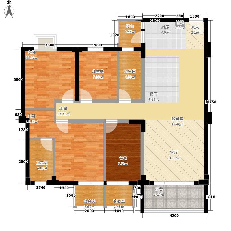 锦绣生态园乐满园5座2梯户型