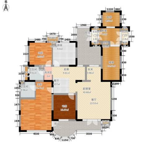 帝景豪庭3室0厅2卫1厨189.00㎡户型图