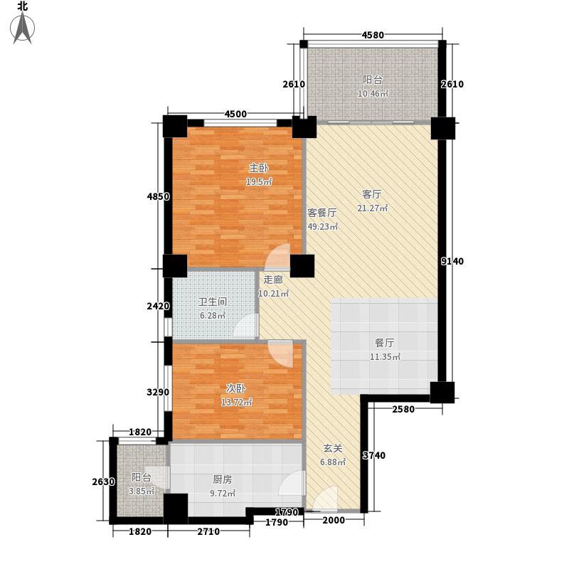 海御19125.78㎡2室2厅1卫