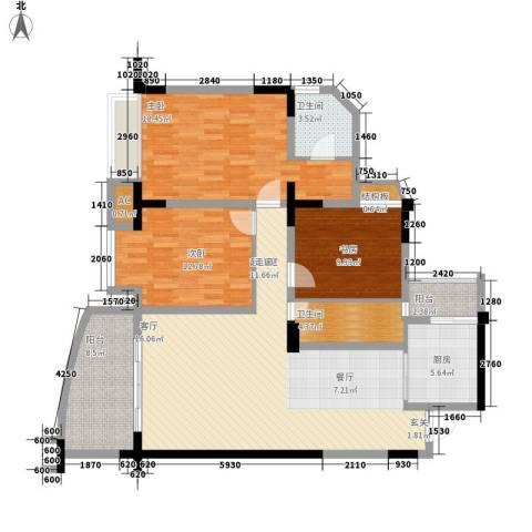 春江名都3室0厅2卫1厨149.00㎡户型图