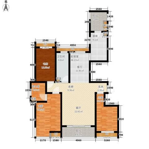 高新花园二期4室0厅1卫1厨152.00㎡户型图