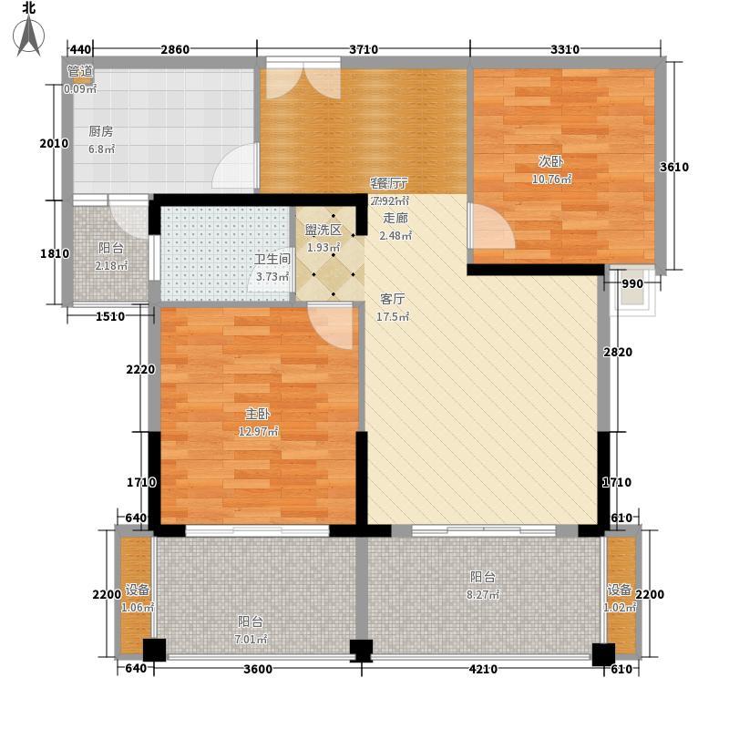 华商新外滩华商・新外滩峰荟阁1单元002、2单元0022室户型