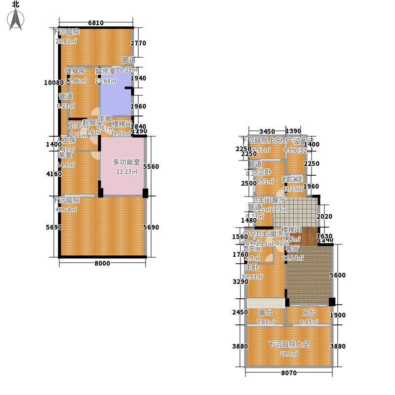 大东城121.30㎡C--户型6室3厅