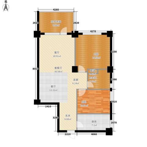 海御192室1厅1卫1厨120.00㎡户型图