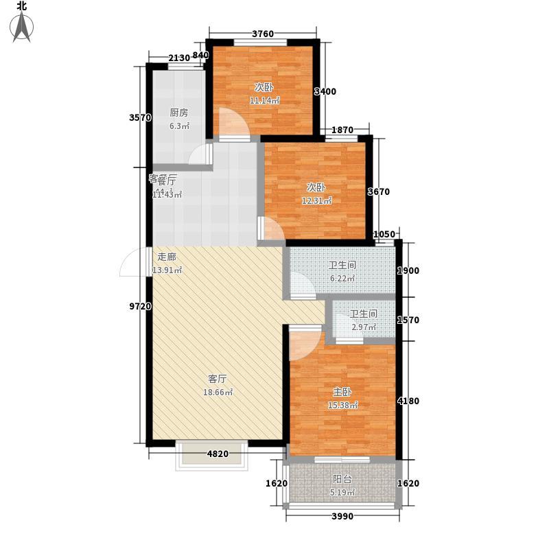 领秀紫晶城16#楼A7户型