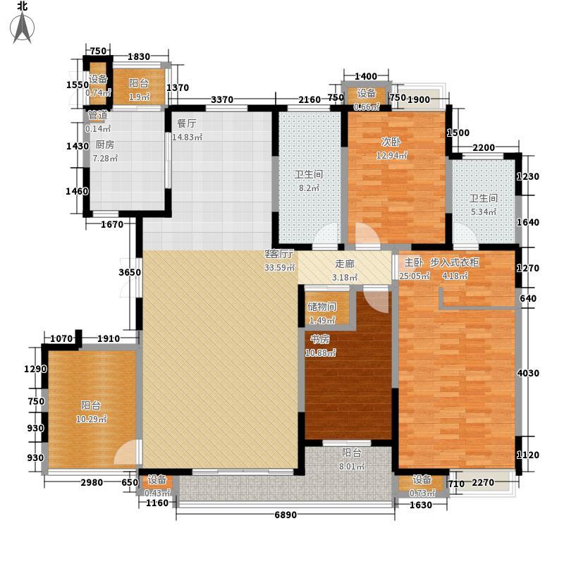 万通上北新新家园182.00㎡10号楼面积18200m户型