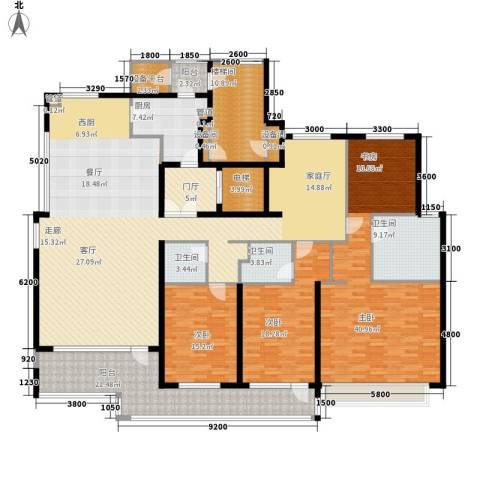 8哩岛3室0厅3卫1厨255.00㎡户型图