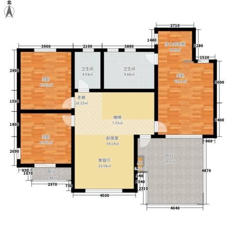 泊景湾3室0厅2卫0厨309.00㎡户型图