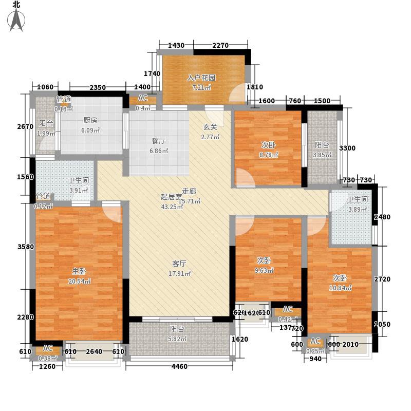 天健上城165.60㎡2栋1单元01+02单位/2单元03+04单位户型3室2厅