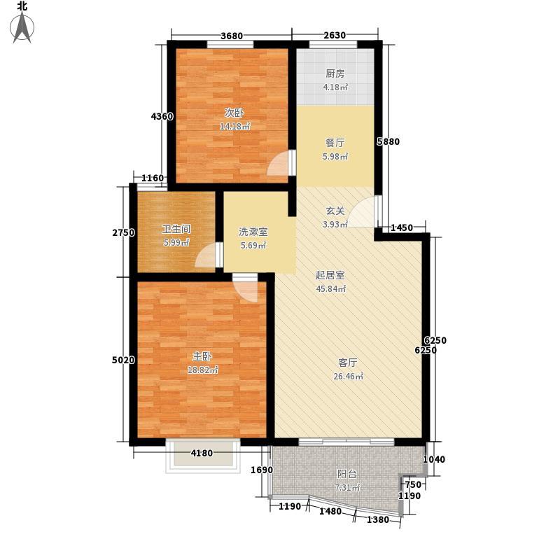 瑞祥花园如意世家103.15㎡4号楼A面积10315m户型