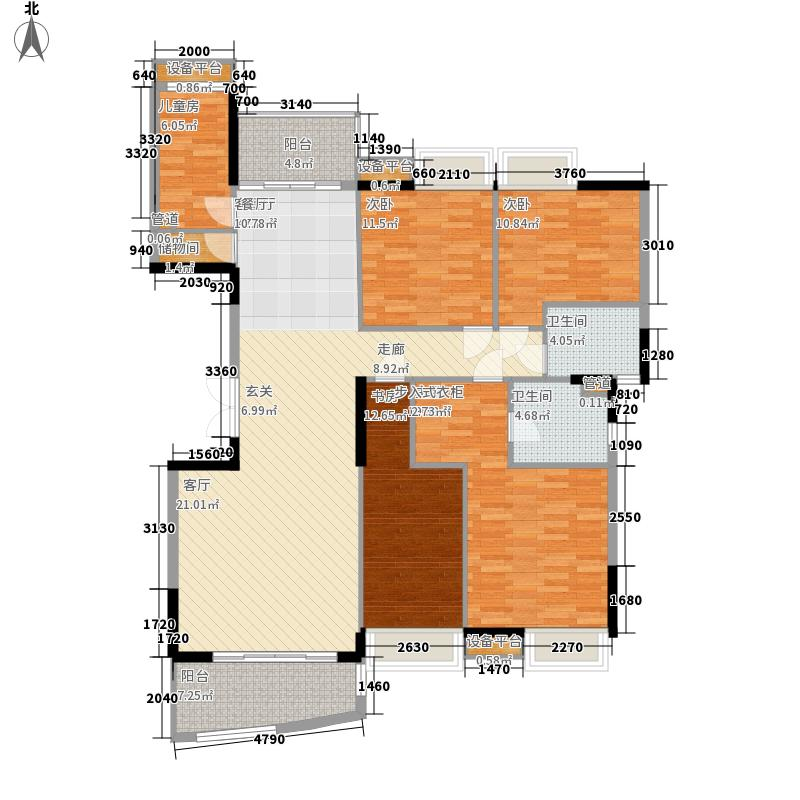 丰怡豪庭170.00㎡30、31、33、34栋2-16楼户型