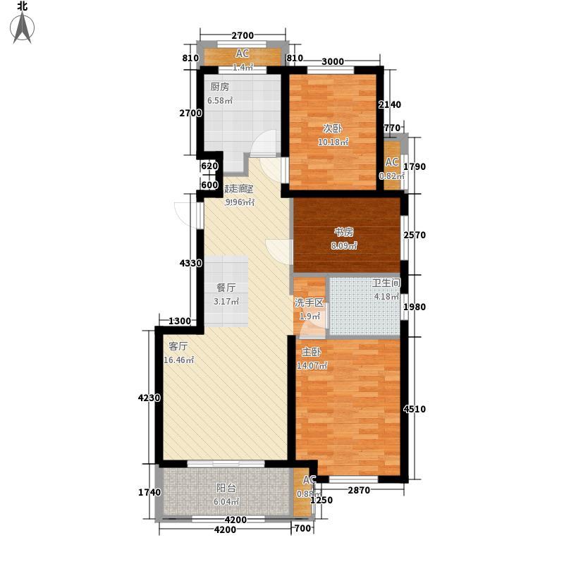 胶南清华园胶南・清华园1-8号楼多层A2户型
