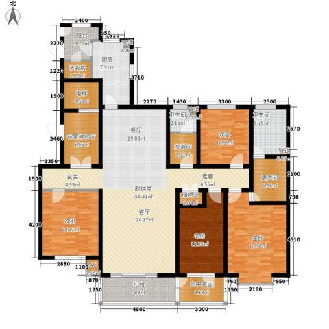 维多利亚时代4室0厅2卫1厨237.00㎡户型图