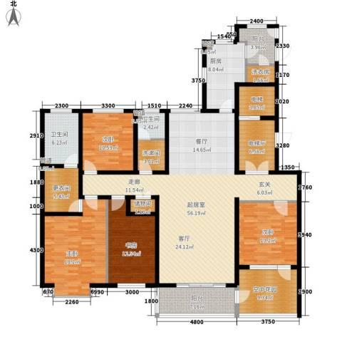 维多利亚时代4室0厅2卫1厨243.00㎡户型图