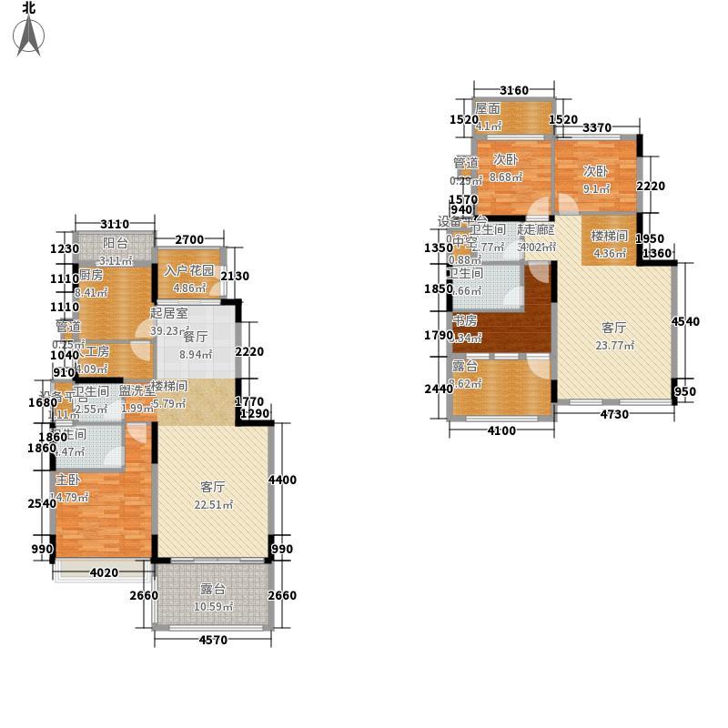 大东城142.71㎡D--户型5室3厅