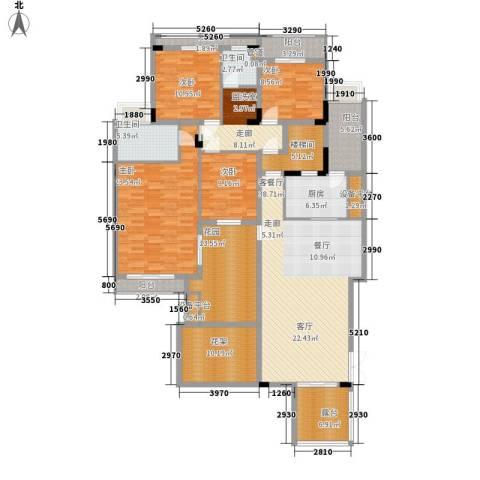 百悦尚城4室1厅2卫1厨236.00㎡户型图