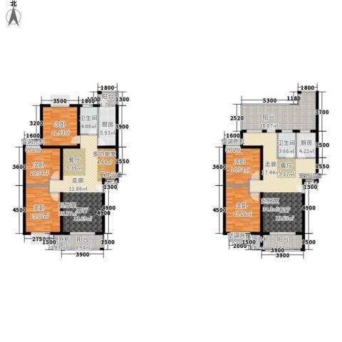 华府世家5室0厅2卫2厨180.92㎡户型图