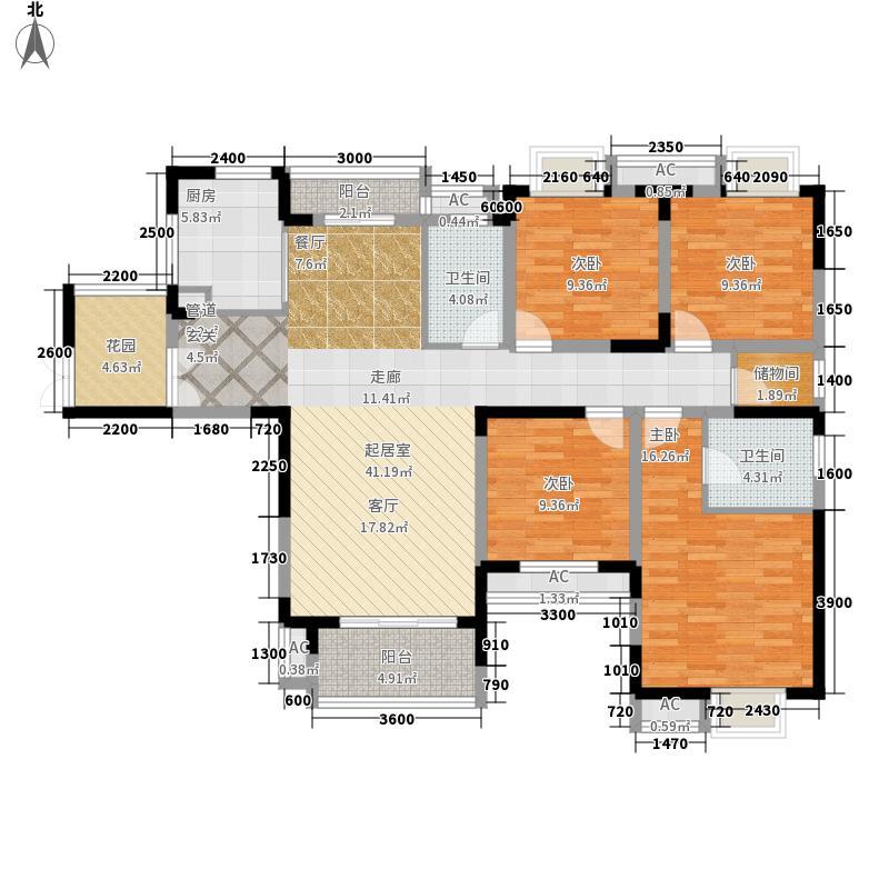 紫菘枫林上城157.58㎡C2面积15758m户型