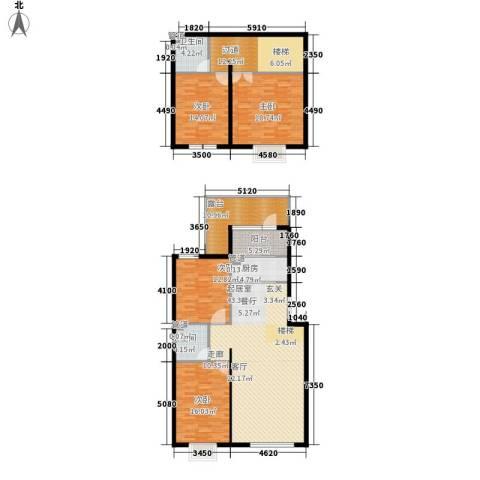 御景龙湾4室0厅2卫1厨203.00㎡户型图