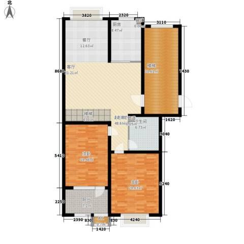 明泉馨居2室0厅1卫1厨144.00㎡户型图