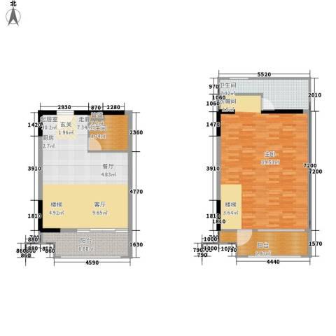 胥口新村1室0厅2卫0厨105.58㎡户型图