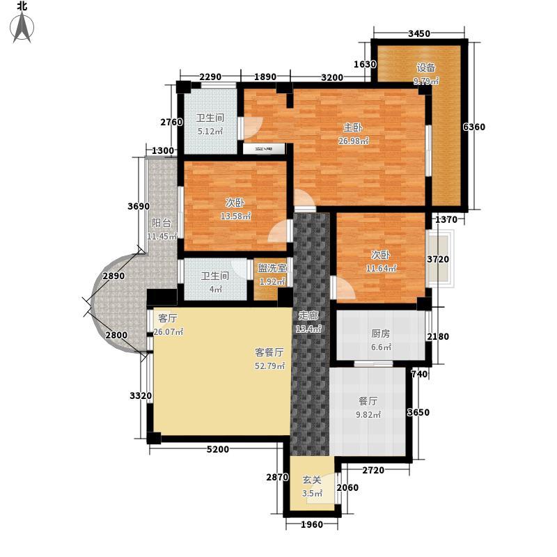 碧波山庄怡园公寓2户型