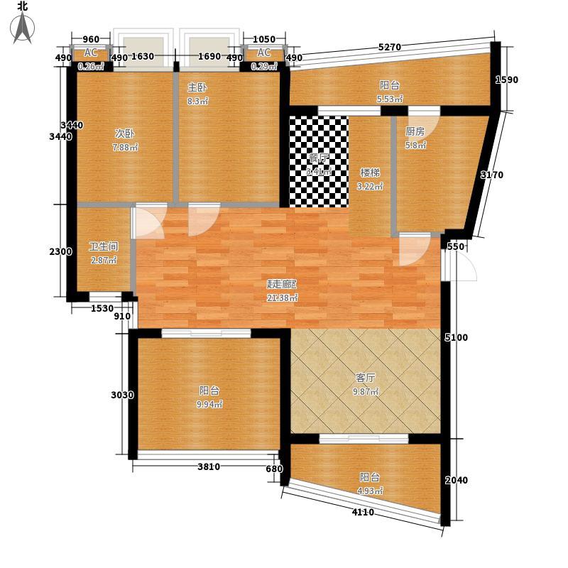 汉水熙园复式3下层2户型