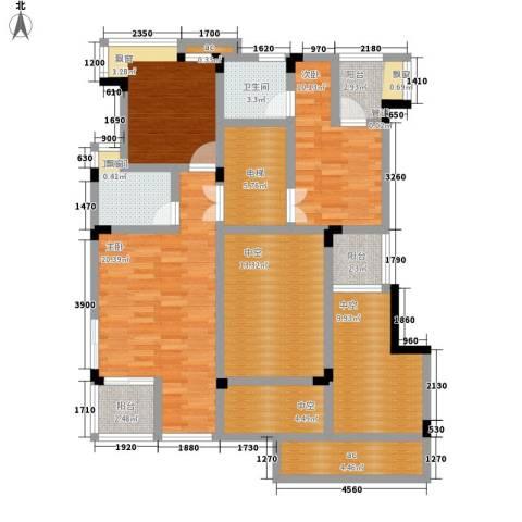 中铁山水天下3室0厅2卫0厨169.00㎡户型图