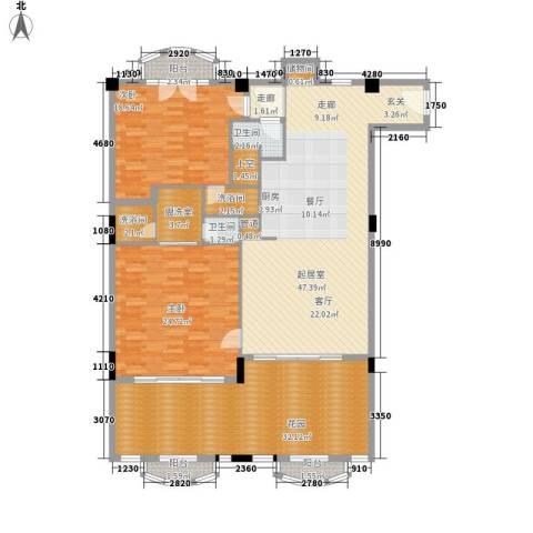 春晖园·随园2室0厅2卫0厨162.00㎡户型图