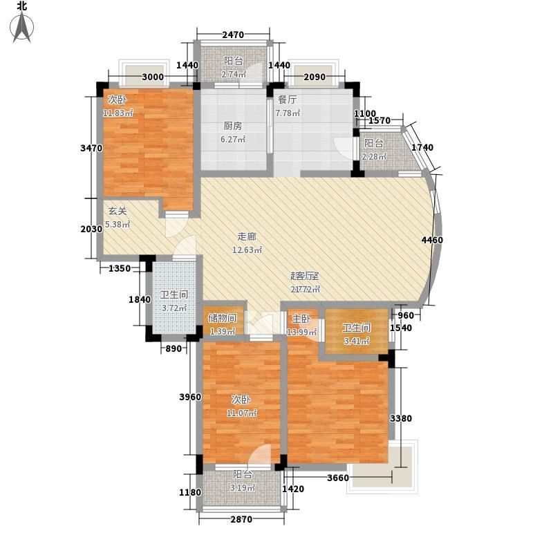 博雅名邸149.42㎡L面积14942m户型